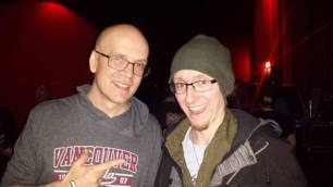 Me n Devin Townsend. This was at the Fox Cabaret at a benefit for his friend Squid. A personal hero.