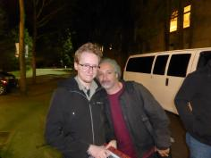 Mike Bordin, the drummer of Faith No More. He was almost aggressively kind and cordial to everybody. Short interaction, but I love this dude.