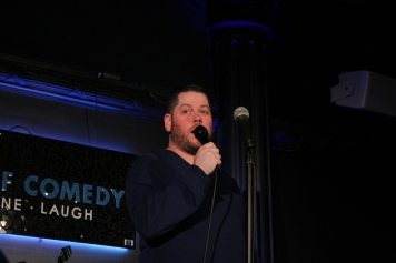 Justin Nichol at the House of Comedyjustinnicholcomedy on Instagram